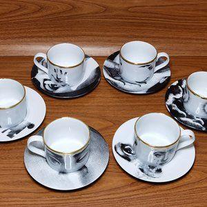 Fornasetti Tema e Variazioni Tea Set